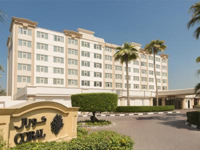 exterior view - hotel coral beach resort sharjah - sharjah, united arab emirates