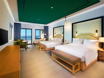 bedroom 1 - hotel hilton ras al khaimah beach resort - ras al khaimah, united arab emirates