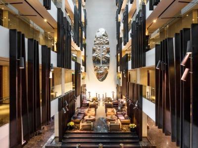 lobby - hotel the canvas dubai mgallery htl collection - dubai, united arab emirates