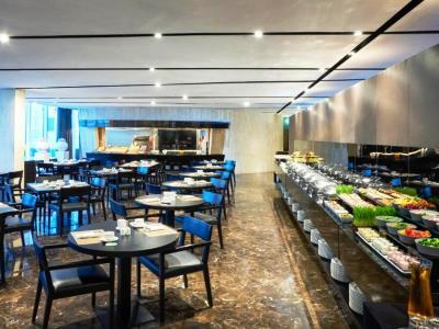 restaurant - hotel the canvas dubai mgallery htl collection - dubai, united arab emirates