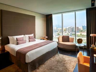 bedroom 1 - hotel the canvas dubai mgallery htl collection - dubai, united arab emirates