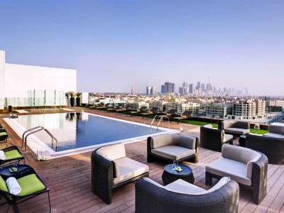 outdoor pool 1 - hotel the canvas dubai mgallery htl collection - dubai, united arab emirates