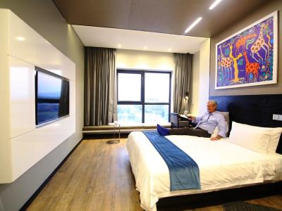 bedroom - hotel room50two - gaborone, botswana