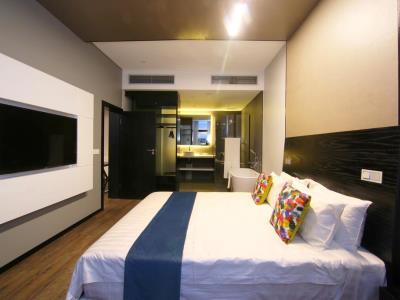 bedroom 2 - hotel room50two - gaborone, botswana