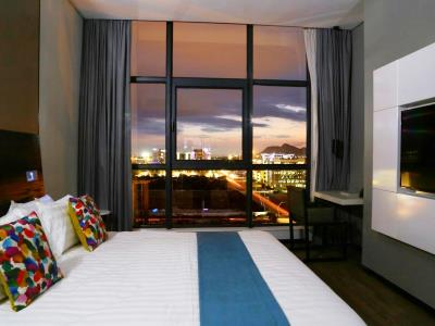 bedroom 4 - hotel room50two - gaborone, botswana