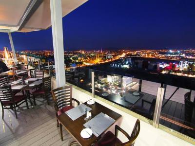 restaurant - hotel room50two - gaborone, botswana