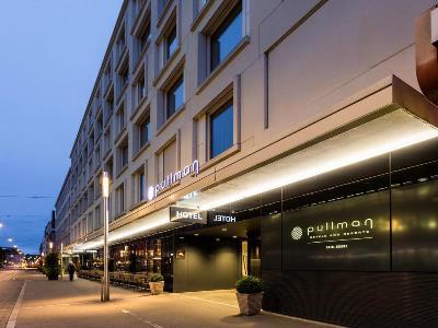 exterior view - hotel pullman basel europe - basel, switzerland