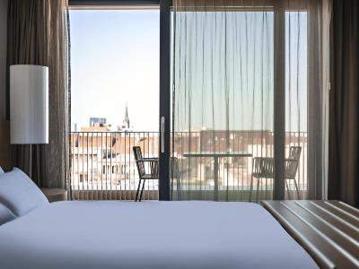 bedroom 1 - hotel pullman basel europe - basel, switzerland