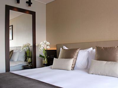 bedroom - hotel crowne plaza geneva - geneva, switzerland