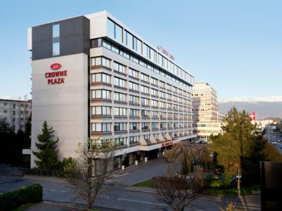 exterior view - hotel crowne plaza geneva - geneva, switzerland