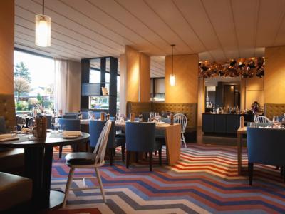 restaurant - hotel crowne plaza geneva - geneva, switzerland