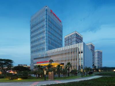 exterior view - hotel wanda realm zengcheng guangzhou - guangzhou, china