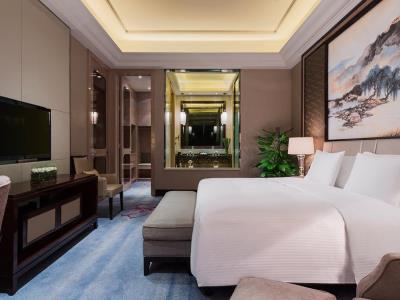 bedroom - hotel wanda realm zengcheng guangzhou - guangzhou, china
