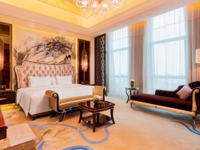 bedroom 1 - hotel wanda realm zengcheng guangzhou - guangzhou, china