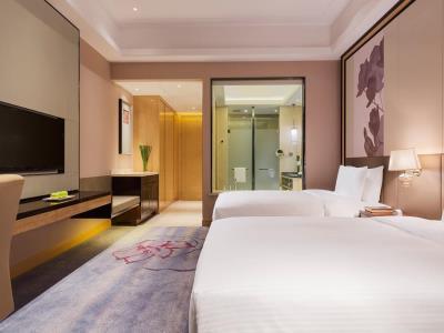 bedroom 2 - hotel wanda realm zengcheng guangzhou - guangzhou, china