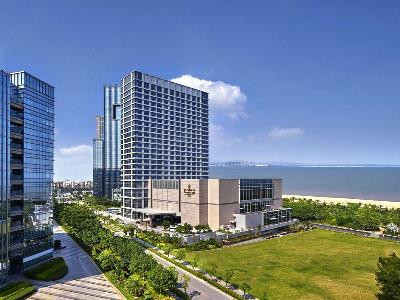 exterior view - hotel shangri-la hotel, xiamen - xiamen, china