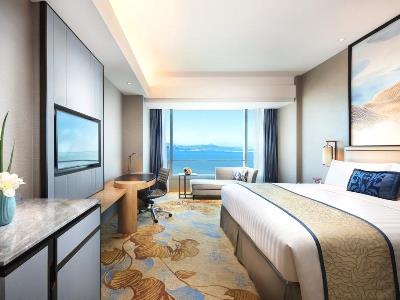 bedroom - hotel shangri-la hotel, xiamen - xiamen, china