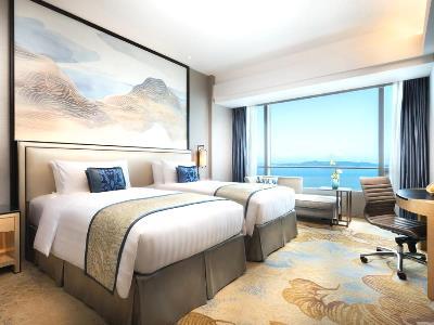 bedroom 1 - hotel shangri-la hotel, xiamen - xiamen, china