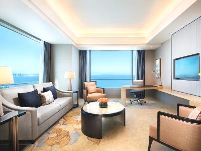 bedroom 3 - hotel shangri-la hotel, xiamen - xiamen, china