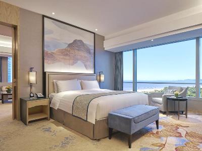 bedroom 2 - hotel shangri-la hotel, xiamen - xiamen, china