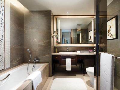 bathroom - hotel shangri-la hotel, xiamen - xiamen, china