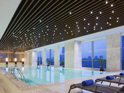 indoor pool - hotel wanda realm nanchang - nanchang, china