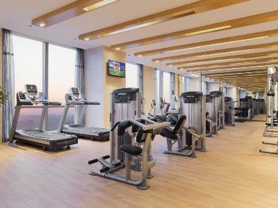 gym - hotel wanda realm nanchang - nanchang, china