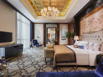 bedroom - hotel wanda realm nanchang - nanchang, china