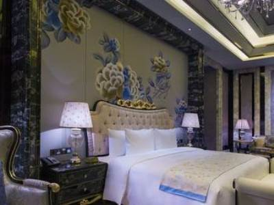 bedroom 1 - hotel wanda vista kunming - kunming, china