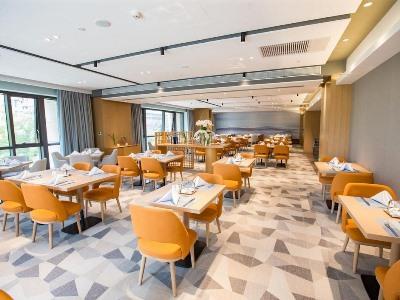 breakfast room - hotel shama serviced apartments zijingang - hangzhou, china