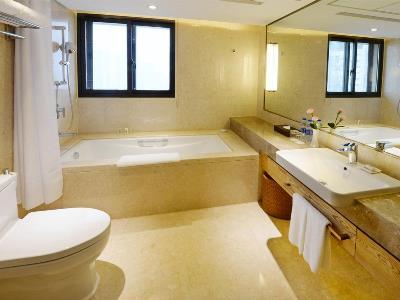 bathroom - hotel holiday inn hefei - hefei, china