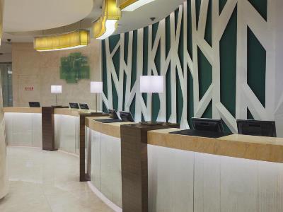 lobby 1 - hotel holiday inn hefei - hefei, china