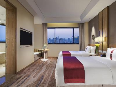 bedroom - hotel holiday inn hefei - hefei, china
