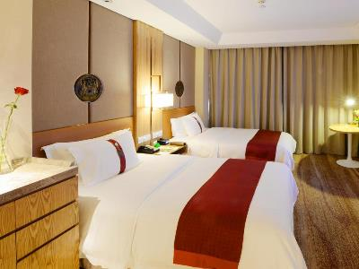 bedroom 1 - hotel holiday inn hefei - hefei, china