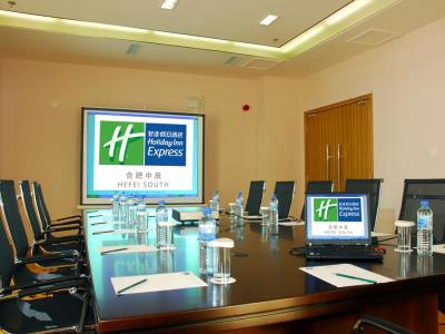 conference room 1 - hotel holiday inn express south hefei - hefei, china