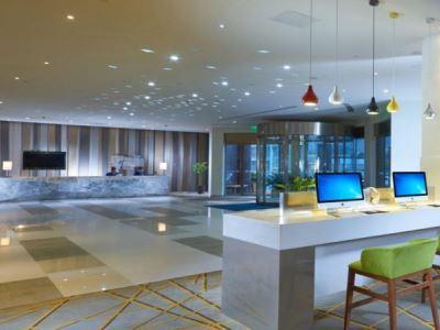 lobby - hotel holiday inn express hefei downtown - hefei, china