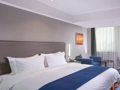 bedroom - hotel holiday inn express hefei downtown - hefei, china