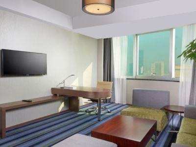 bedroom 2 - hotel holiday inn express hefei downtown - hefei, china