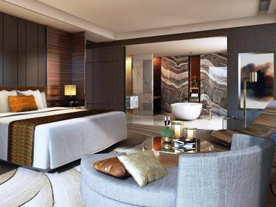 bedroom - hotel intercontinental hefei - hefei, china