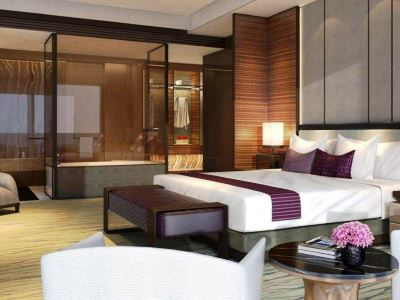 bedroom 1 - hotel intercontinental hefei - hefei, china