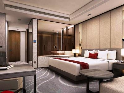 bedroom 2 - hotel intercontinental hefei - hefei, china