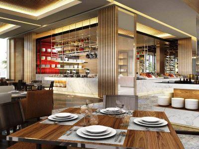 breakfast room - hotel intercontinental hefei - hefei, china