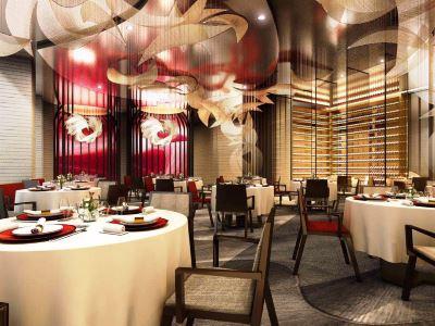 restaurant - hotel intercontinental hefei - hefei, china