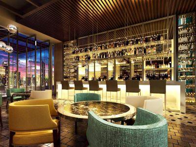 bar - hotel intercontinental hefei - hefei, china
