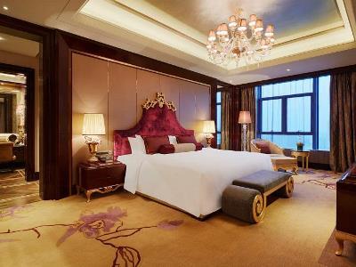 bedroom - hotel wanda realm huaian - huai'an, china