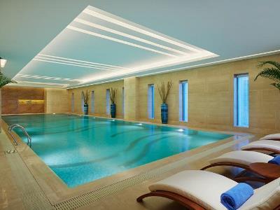 indoor pool - hotel wanda realm huaian - huai'an, china