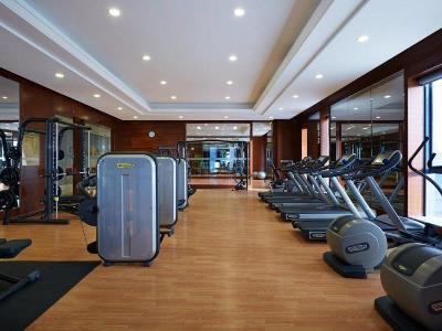 gym - hotel wanda realm huaian - huai'an, china