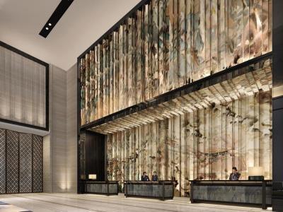 lobby 1 - hotel wanda realm jinhua - jinhua, china