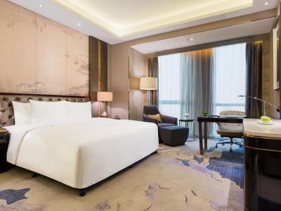 bedroom - hotel wanda realm jinhua - jinhua, china