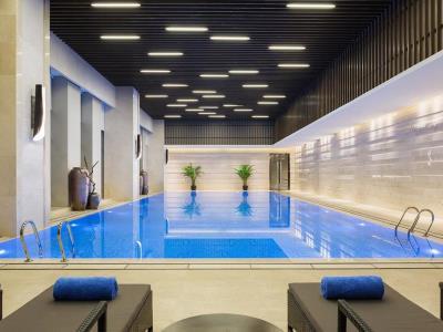 outdoor pool - hotel wanda realm jinhua - jinhua, china